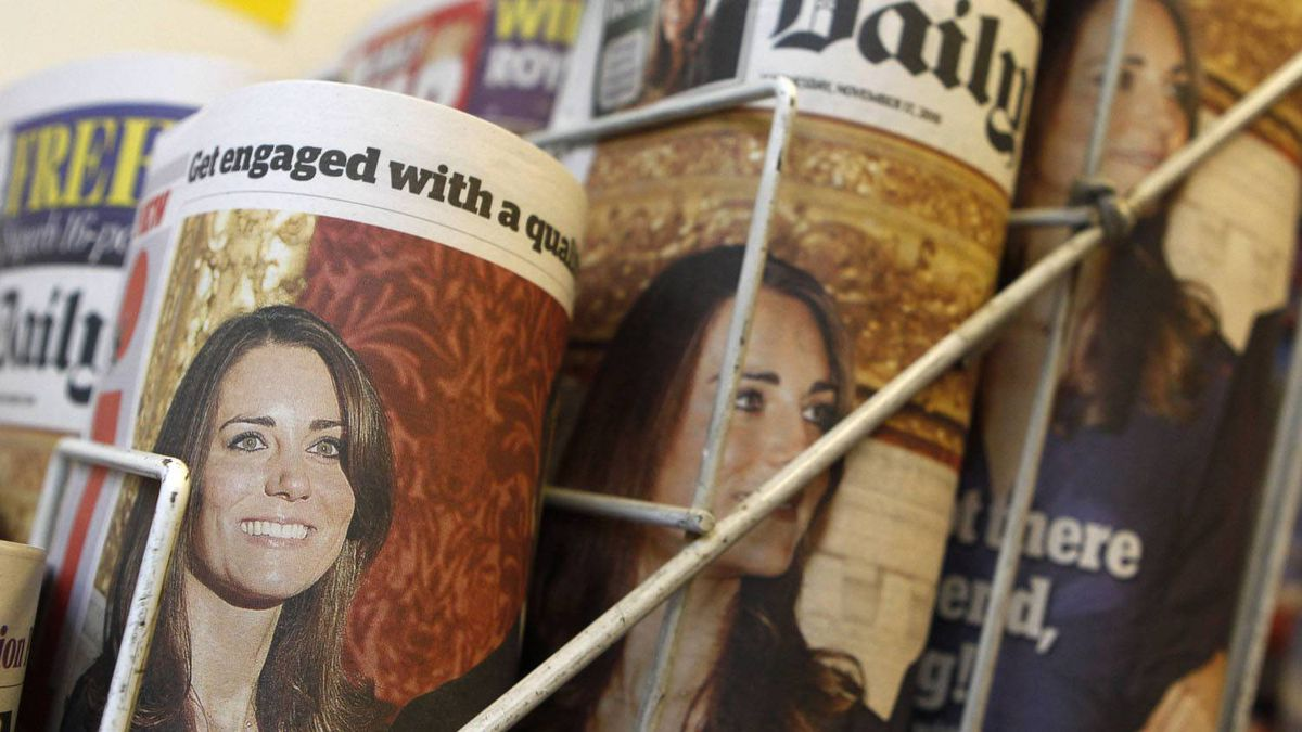 Newspapers are displayed at a news stand, in London November 17, 2010.