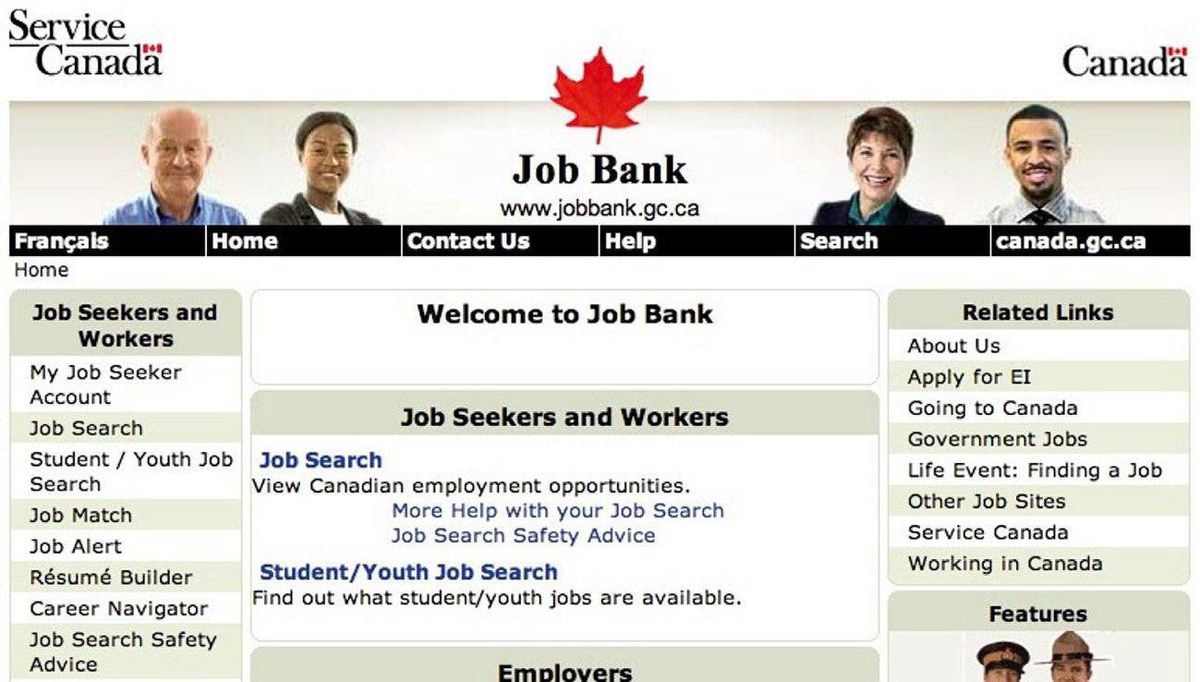 Service Canada Reopens Job Bank After Two Week Shutdown The Globe And Mail