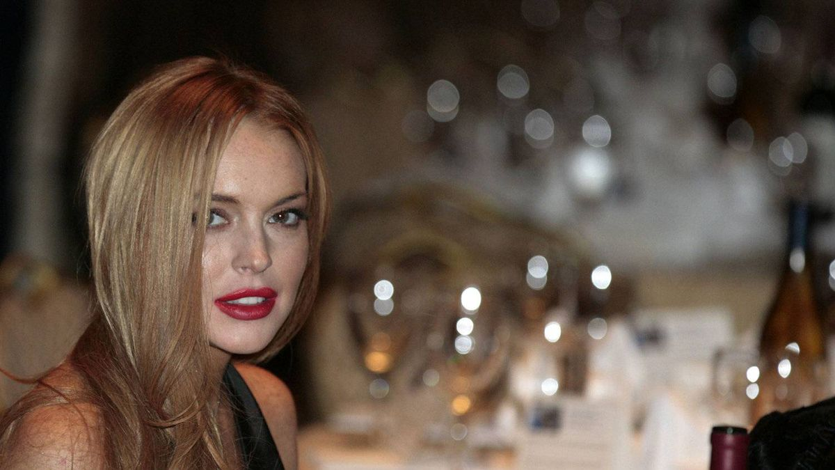 Actress Lindsay Lohan attends the White House Correspondents' Association annual dinner in Washington April 28, 2012.