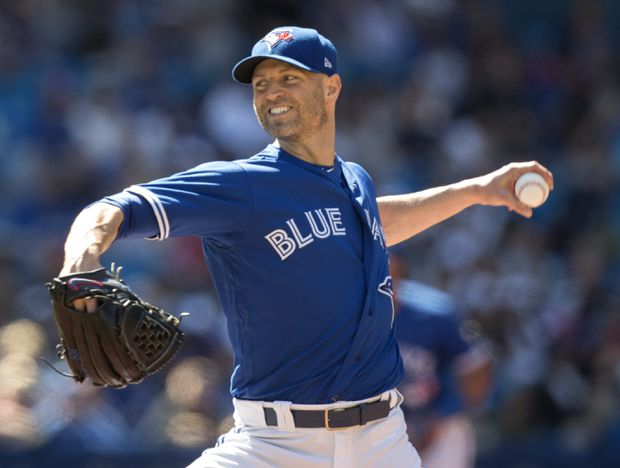 J.A. Happ works against the New York Yankees on Saturday. 8ea2da73000