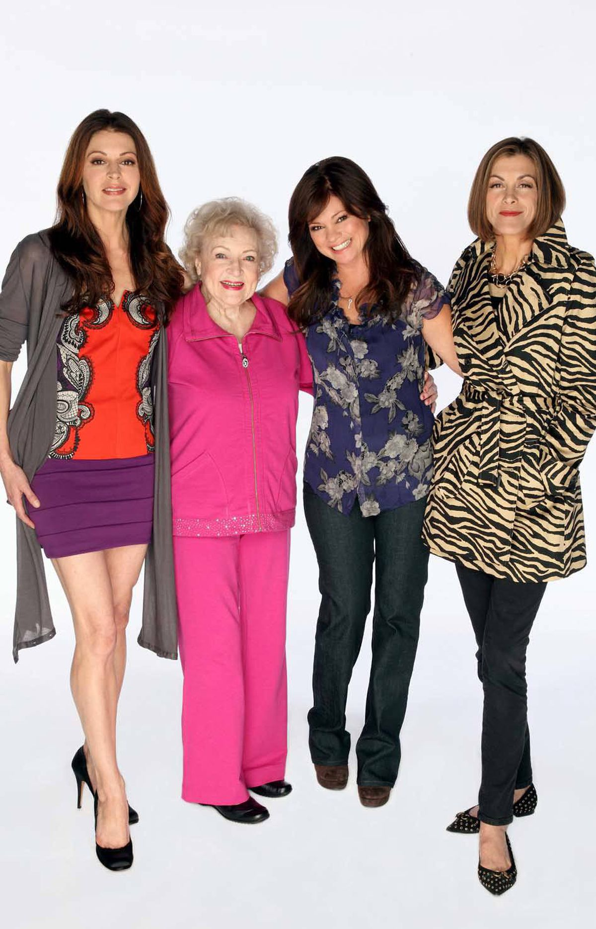 COMEDY Hot in Cleveland CTV, 8:30 p.m. Fortysomething girls just want to have fun in this old-school sitcom from the U.S. cable channel TV Land. Currently in its third season, the show's premise casts TV veterans Jane Leeves (Frasier), Valerie Bertinelli (One Day at a Time) and Wendie Malick (Just Shoot Me) as Joy, Melanie and Victoria, three unattached L.A. doyennes who reboot their lives in Cleveland. The inimitable Betty White lends support as their crusty caretaker Elka. And does love bloom in the city of bowling shirts and bratwurst? In tonight's episode, Joy makes the mistake of dating one of Victoria's co-workers, while Melanie hooks up with a seemingly nice guy, unaware that he's obsessed with her feet.
