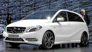 New Mercedes-Benz B-Class__Credit: Michael Bettencourt for the Globe and Mail