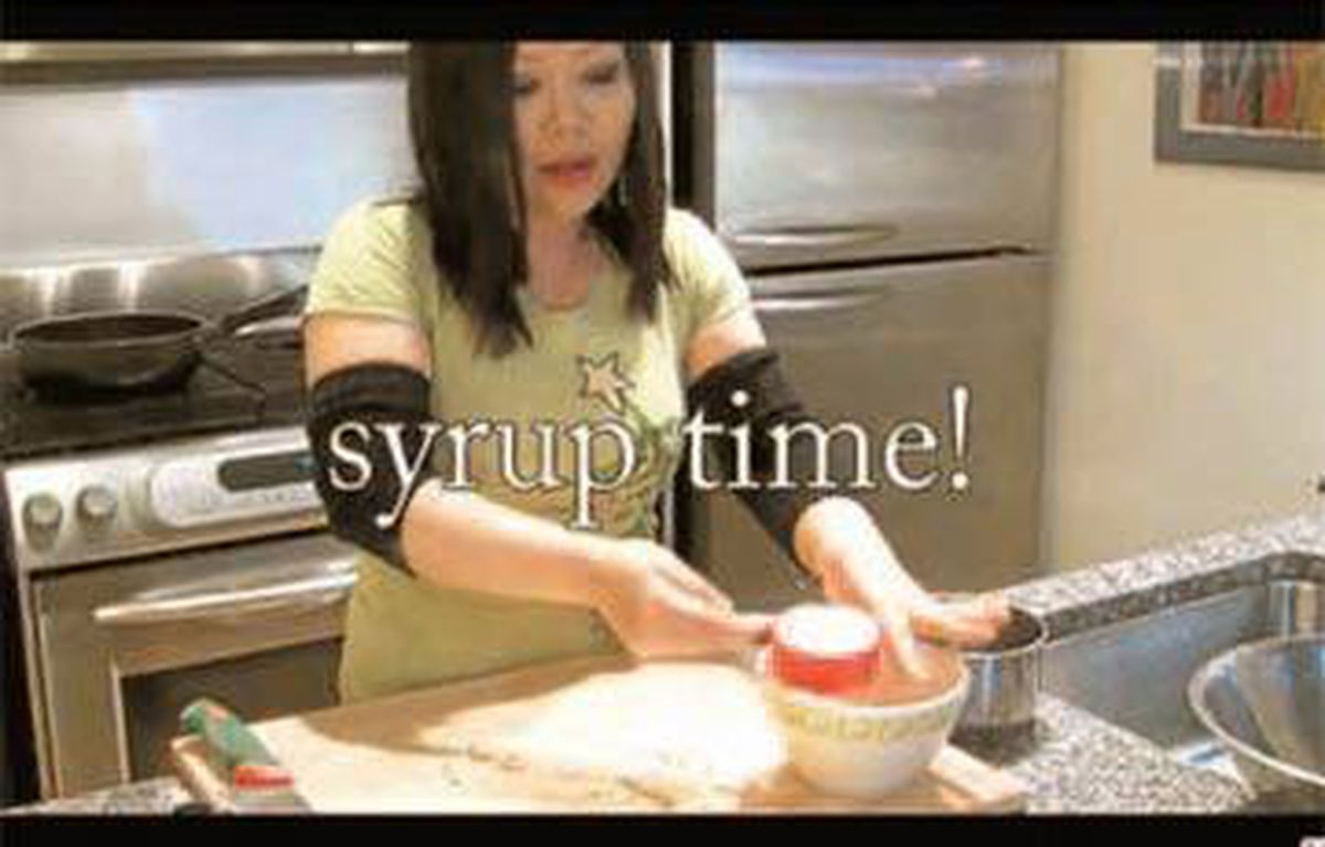 Emily Kim's explanation of how to cook kimchi has been viewed nearly 300,000 times.