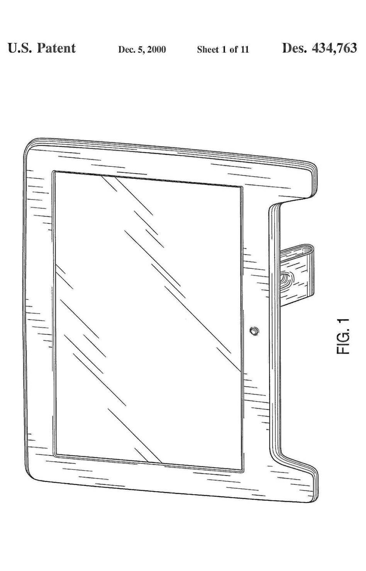 This series of patents spans cathode ray tubes and early flat-panel displays to Apple's current, sleek monitors.