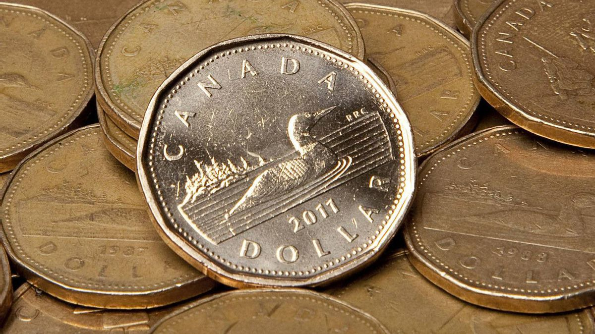 Canadian dollars are pictured in Vancouver, B.C. Thursday, Sept. 22, 2011.