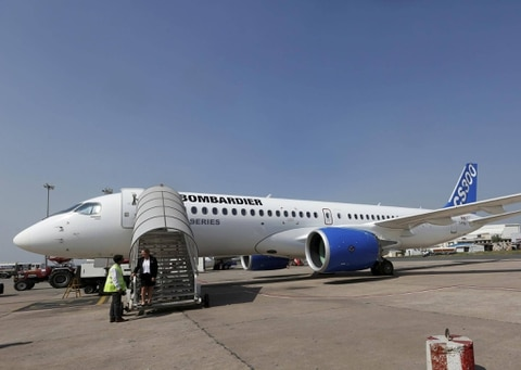 EgyptAir signs $1.1 bln deal for 12 Bombardier CSeries jets