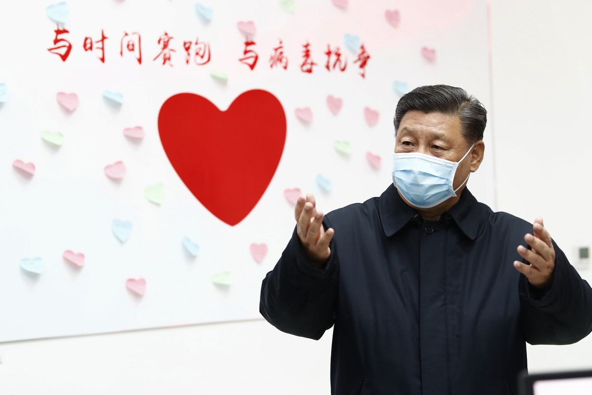 China's Xi Jinping says epidemic 'grim,' calls for action on economy