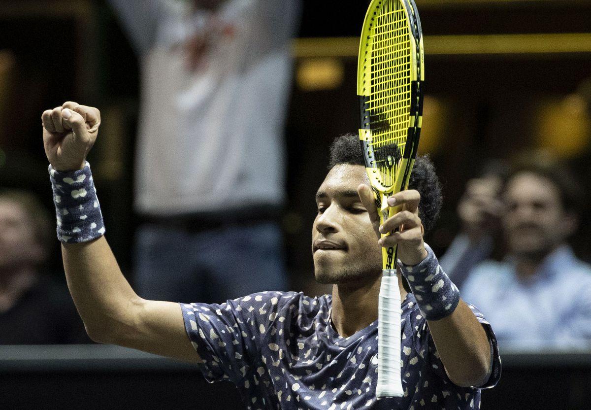 Felix Auger-Aliassime returns to top 20 after reaching Rotterdam final