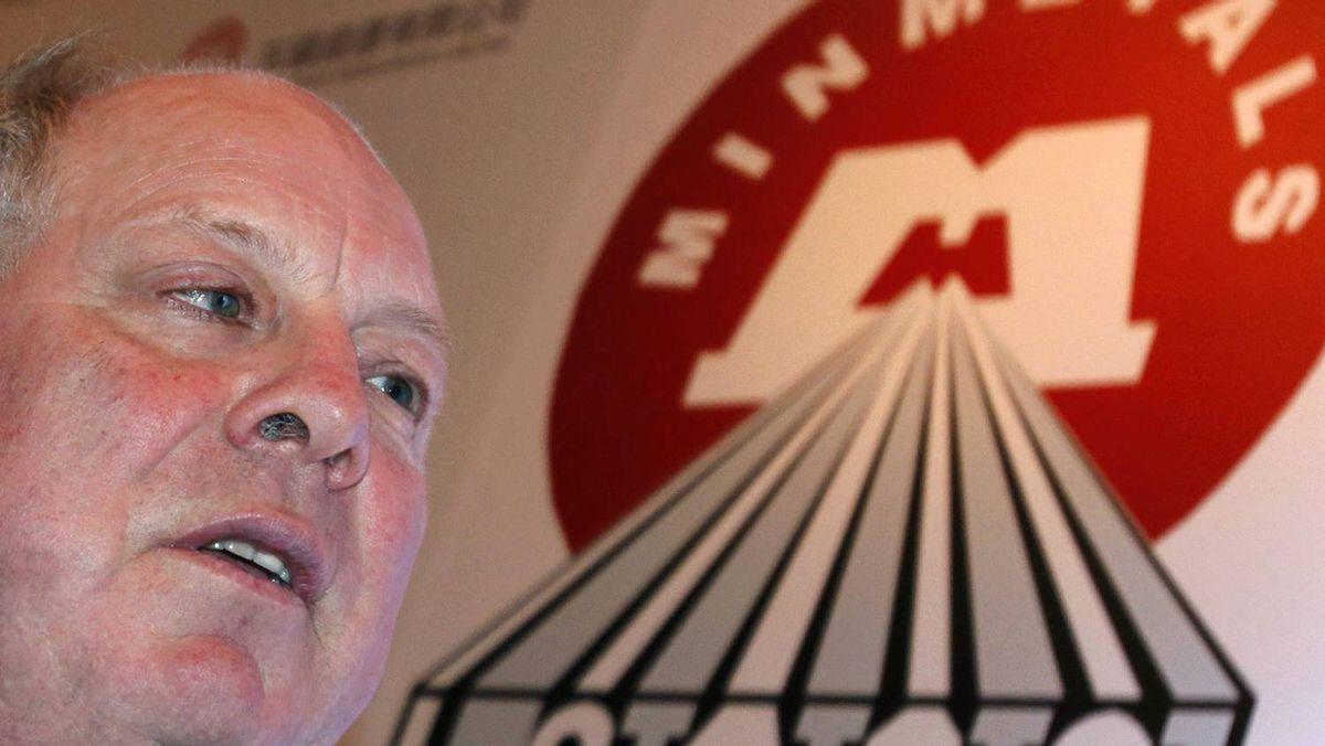 Andrew Michelmore, CEO of Minmetals.