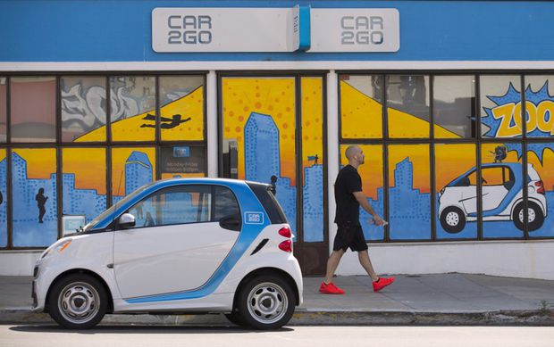 Car2go To Suspend Toronto Operations In May Over City Parking