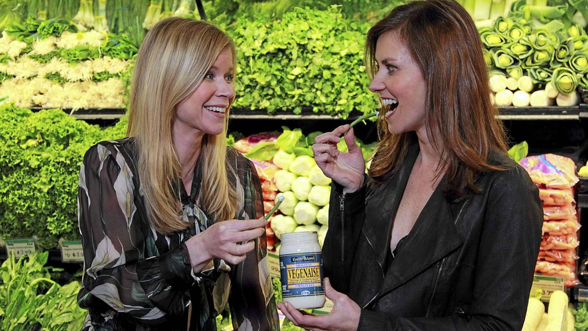 """Anna Wallner (left) and Kristina Matisic recently sold their TV show """"Grocery Bag"""" to Oprah Winfrey's OWN television network."""