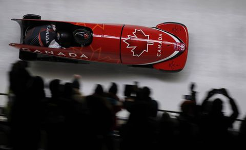 Canada and Germany both win two-man Bobsleigh gold in dead heat