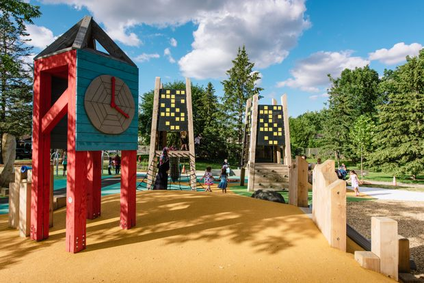 Playgrounds can alienate children with disabilities. Now, they're being built with accessibility in mind