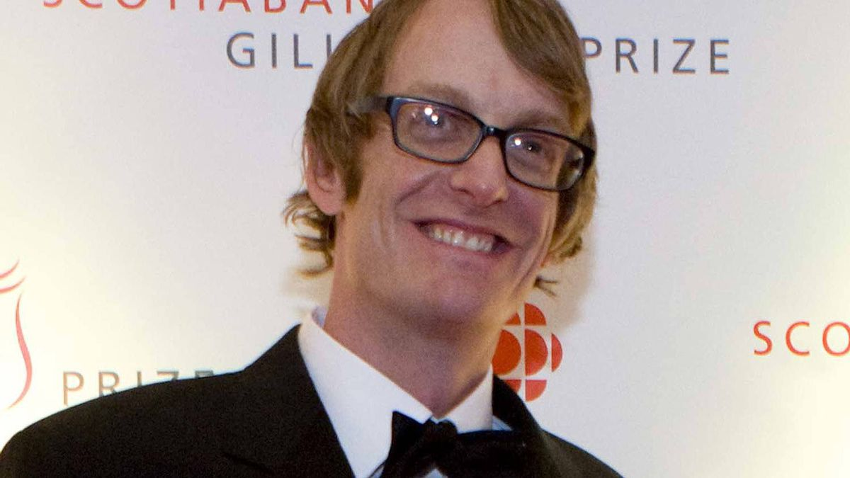 Patrick DeWitt poses for a photo on the red carpet during the 2011 Scotiabank Giller Prize event in Toronto, Ont. on November 8, 2011.