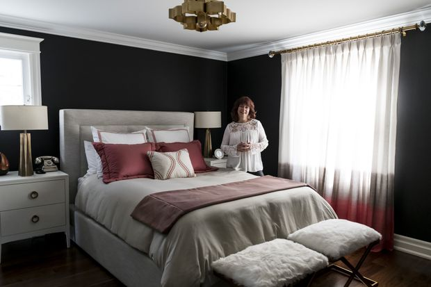 Favourite Room: Mississauga bedroom shows bold, rich hues can help you unplug and unwind