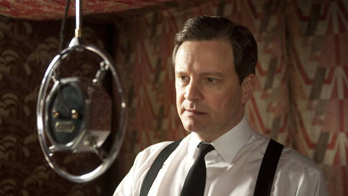 Colin Firth star in The King's Speech.