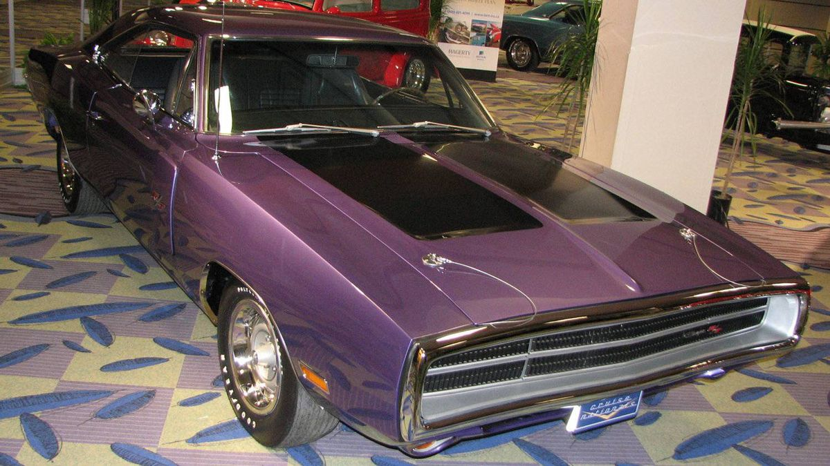 Second-place winner: Don Lebeuf's 1970 Dodge Charger RT