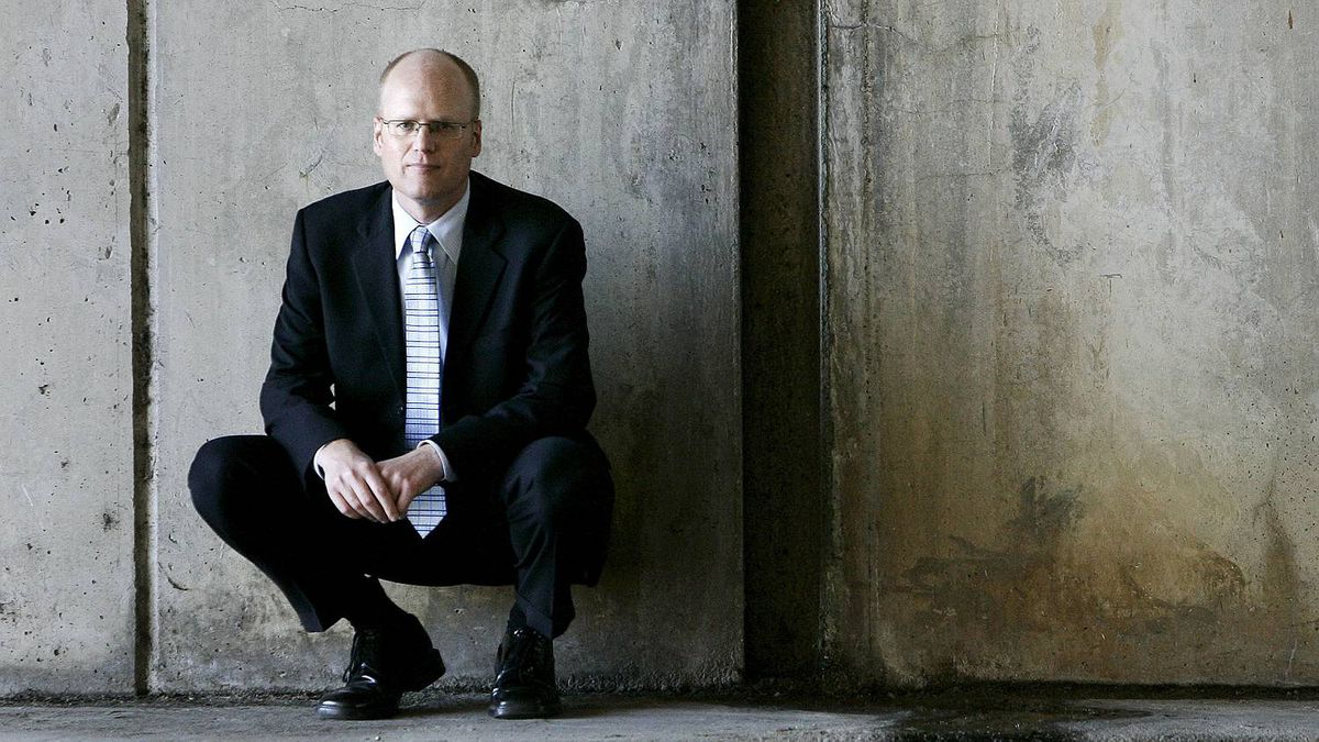 """Alberta, right now, is the hotspot for the neo-Nazi movement in Canada,"" says Richard Warman, photographed in 2008, an Ottawa lawyer who is Canada's top crusader against online hate speech."