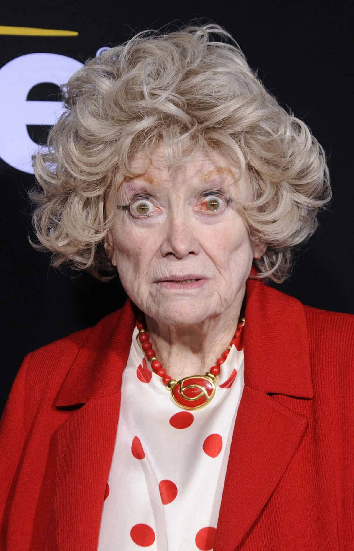"""Yes, Phyllis Diller attending a screening of the documentary """"Method to the Madness of Jerry Lewis"""" in Los Angeles last week, that just happened."""