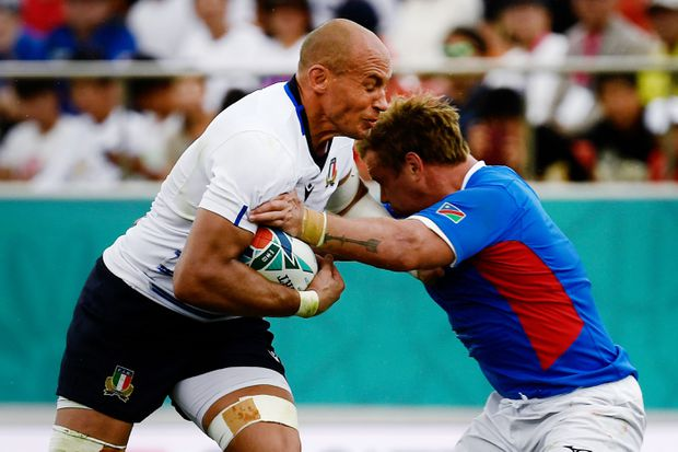 Scoring burst helps Italy to 47-22 win over Namibia