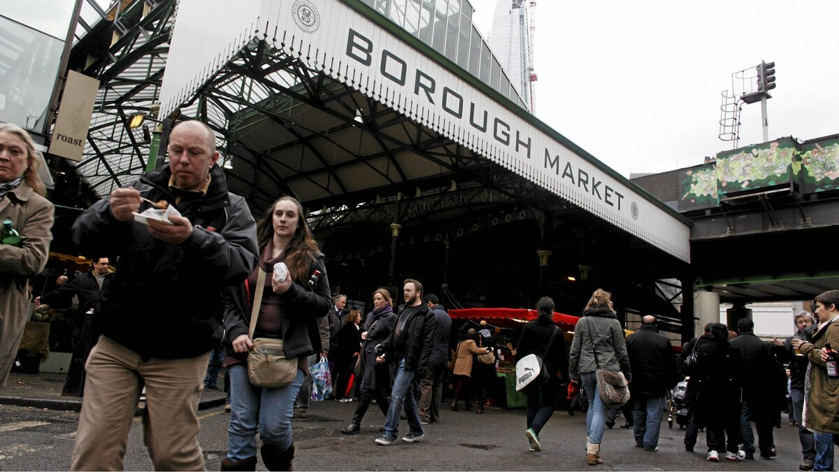 London's Borough Market has been open since the 13th century.