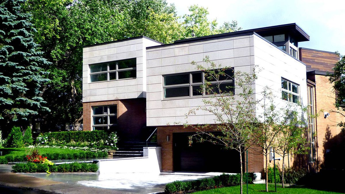 The home at 3050 Chemin St-Sulpice in Montreal's Westmount neighbourhood renovated by architect Fadi Coussa.