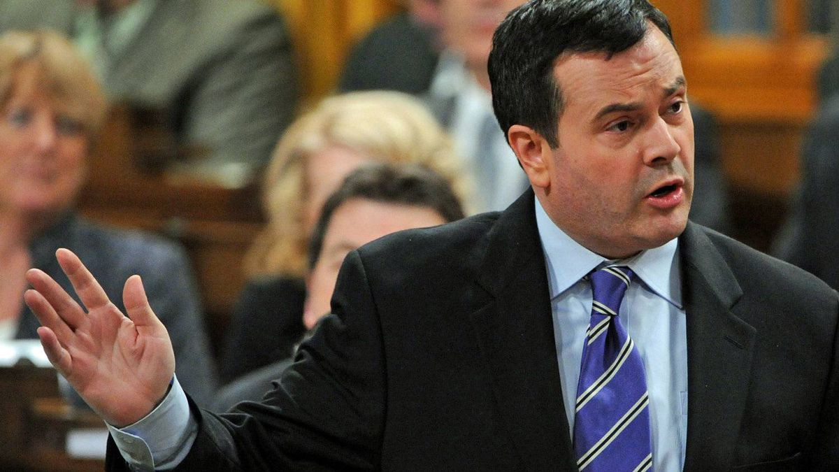 Immigration Minister Jason Kenney speaks in the House of Commons on Nov. 23, 2011.