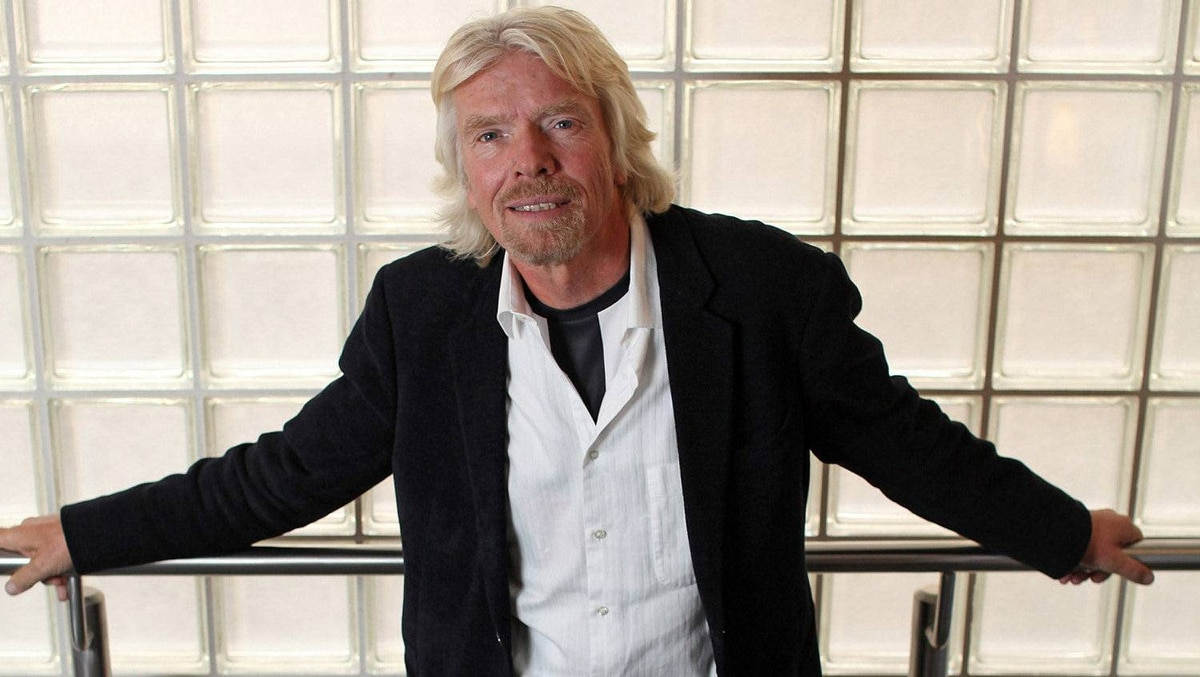 Richard Branson, the founder of Virgin Group Ltd and proponent of a new approach to the war on drugs.