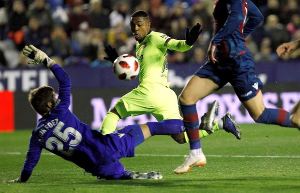 Barcelona Loses To Levante In Copa Del Rey But Late Goal Boosts