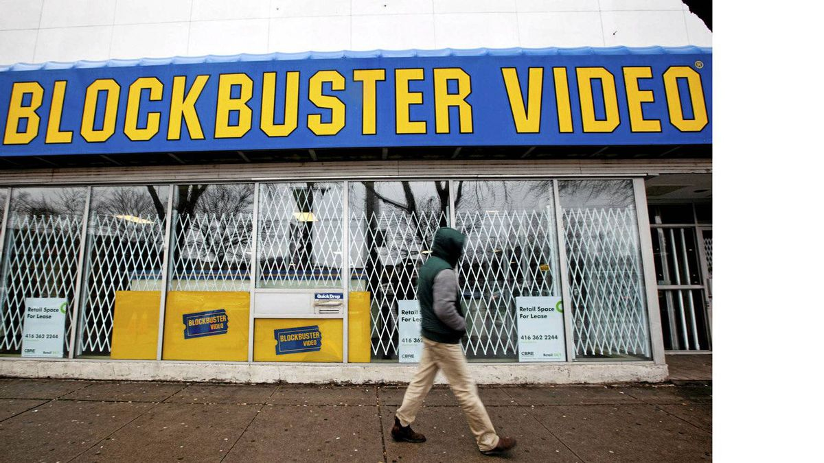 Besides the failure of Blockbuster, none of the Canadian retail flops is particularly noteworthy. But taken together, they spell trouble for the sector.