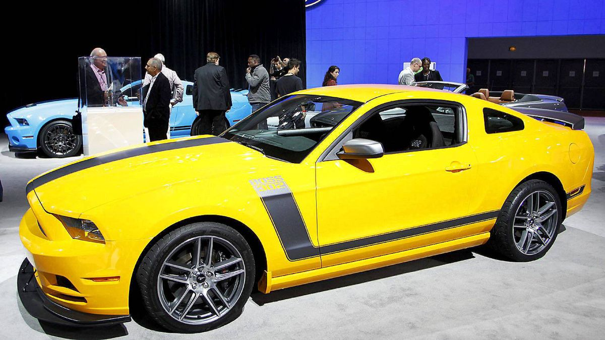 The Ford 2013 Boss 302 Mustang