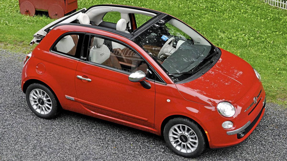 2012 Fiat 500c cabriolet__Credit: michael Bettencourt for The Globe and Mail