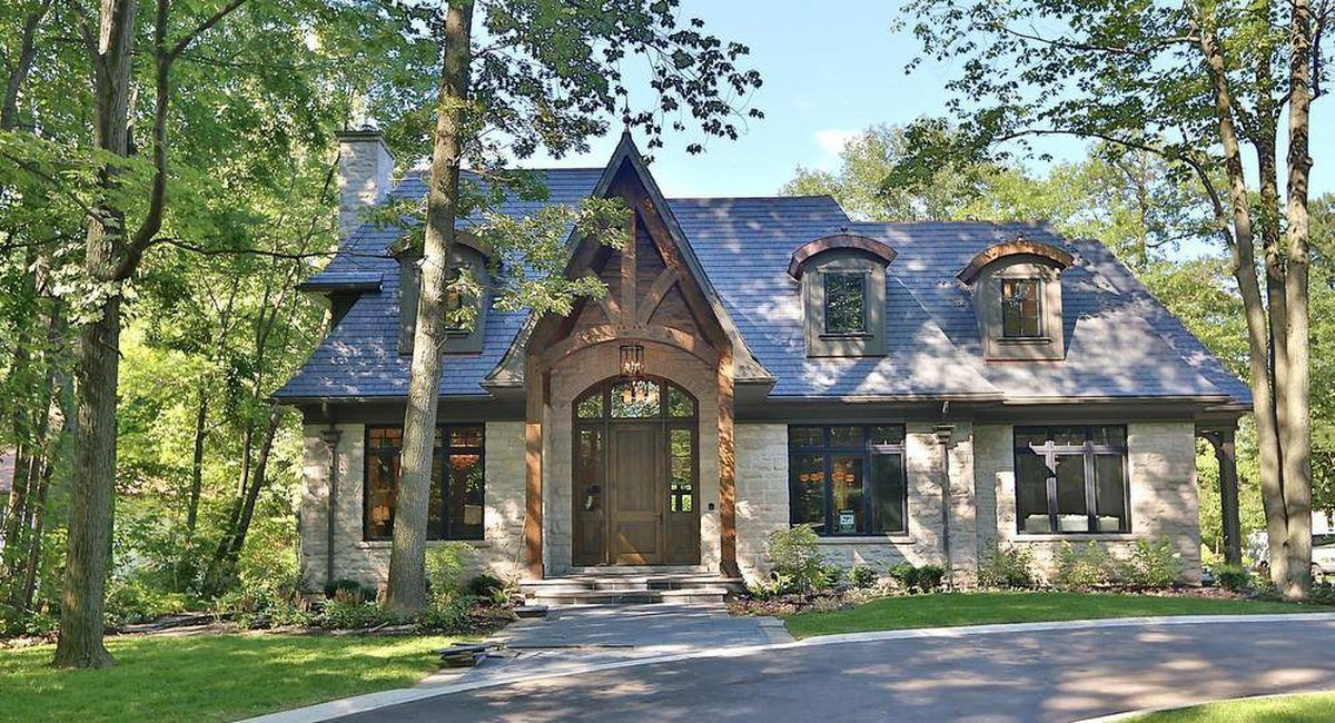 Home of the week french cottage with a lorne park twist for French country cottage homes