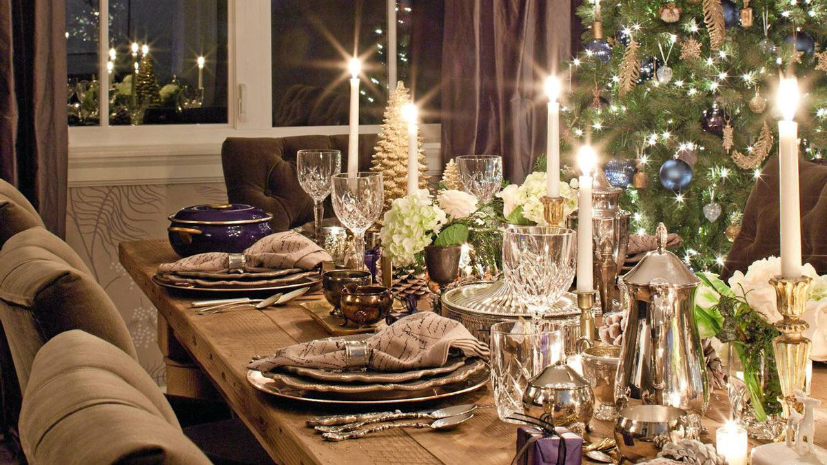 Deciding on a theme is the first step to making an ordinary table enchanting.