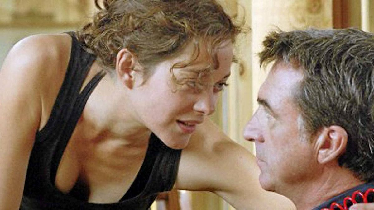 "Marion Cotillard and Francois Cluzet in a scene from ""Little White Lies"""