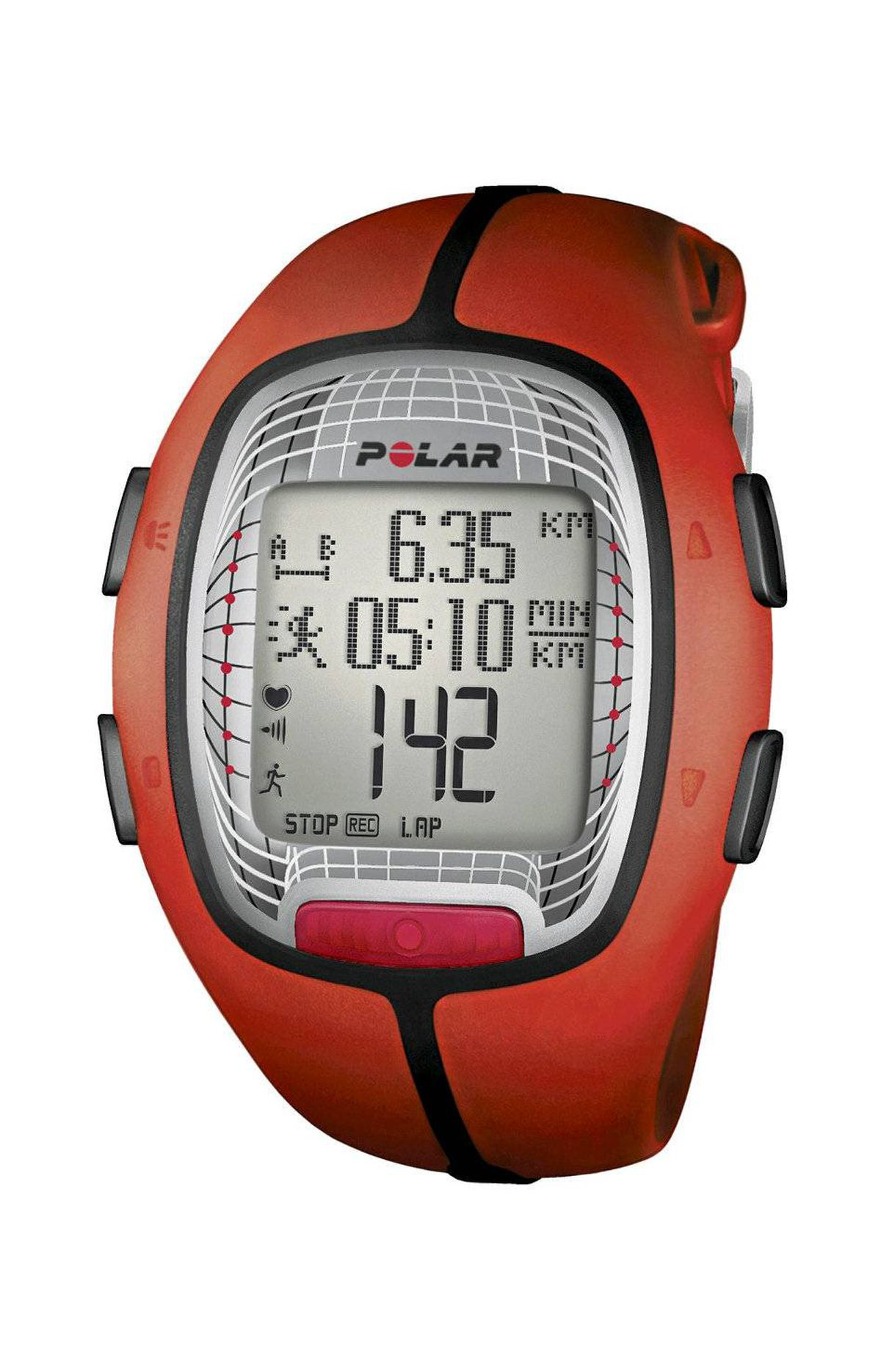 Watch your heart Whether you're in a boot camp or are trying to curb any post-vacation weight gain, Polar's RS300X will let you know how you're doing. This savvy heart-rate monitor/watch is ideal for day-to-day use, calculating target training zones, calories burned and laps run. $179.99, polarca.com
