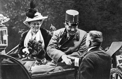 The Archduke's assassination came close to being just another killing