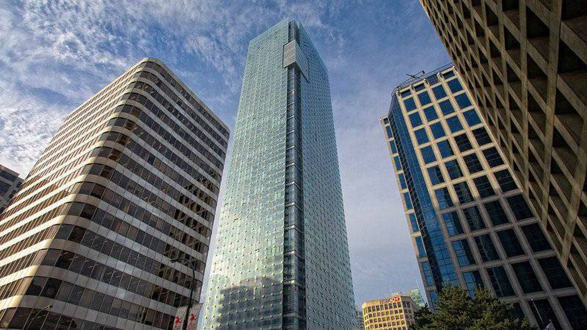 The top penthouse suite in the Shangri-La Hotel residence in Vancouver reportedly went for $16-million.