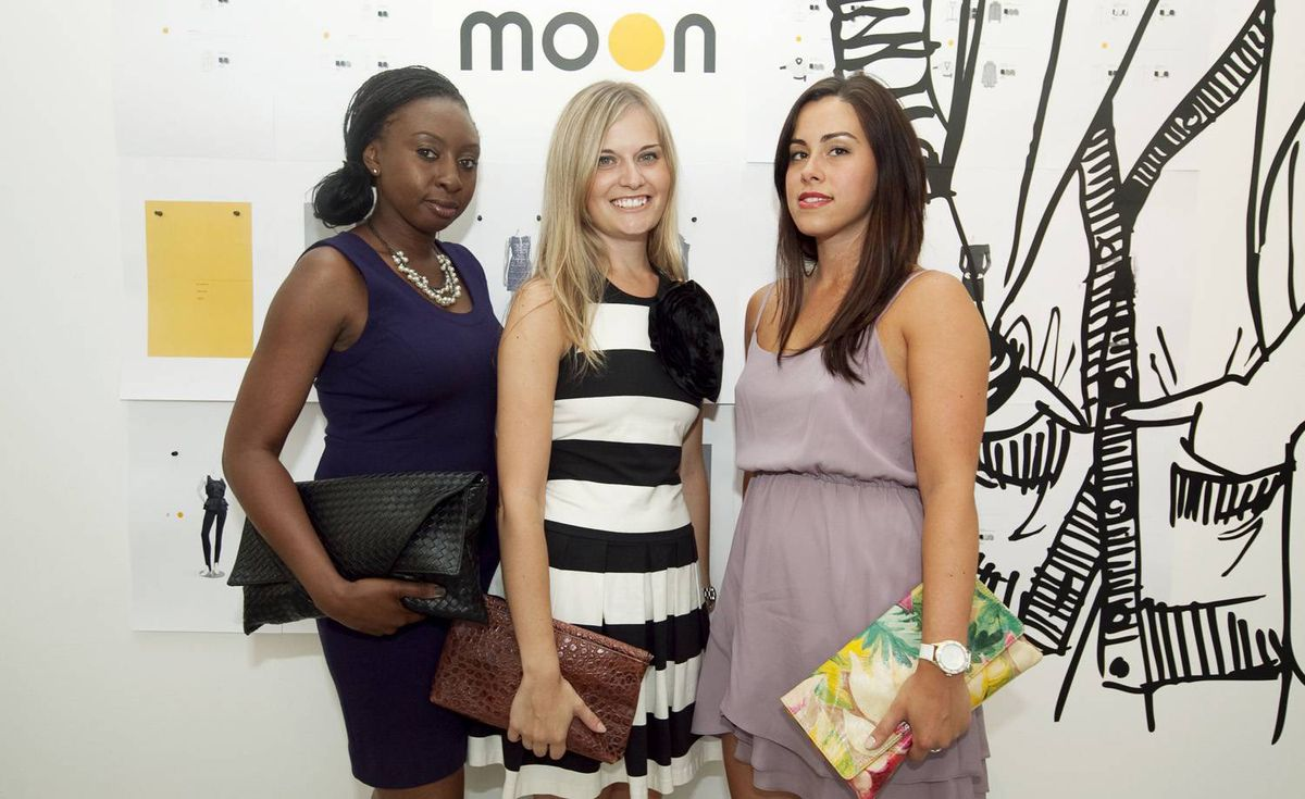 Coleen Thompson (left), Becky Simpson and Andrea Pacheco