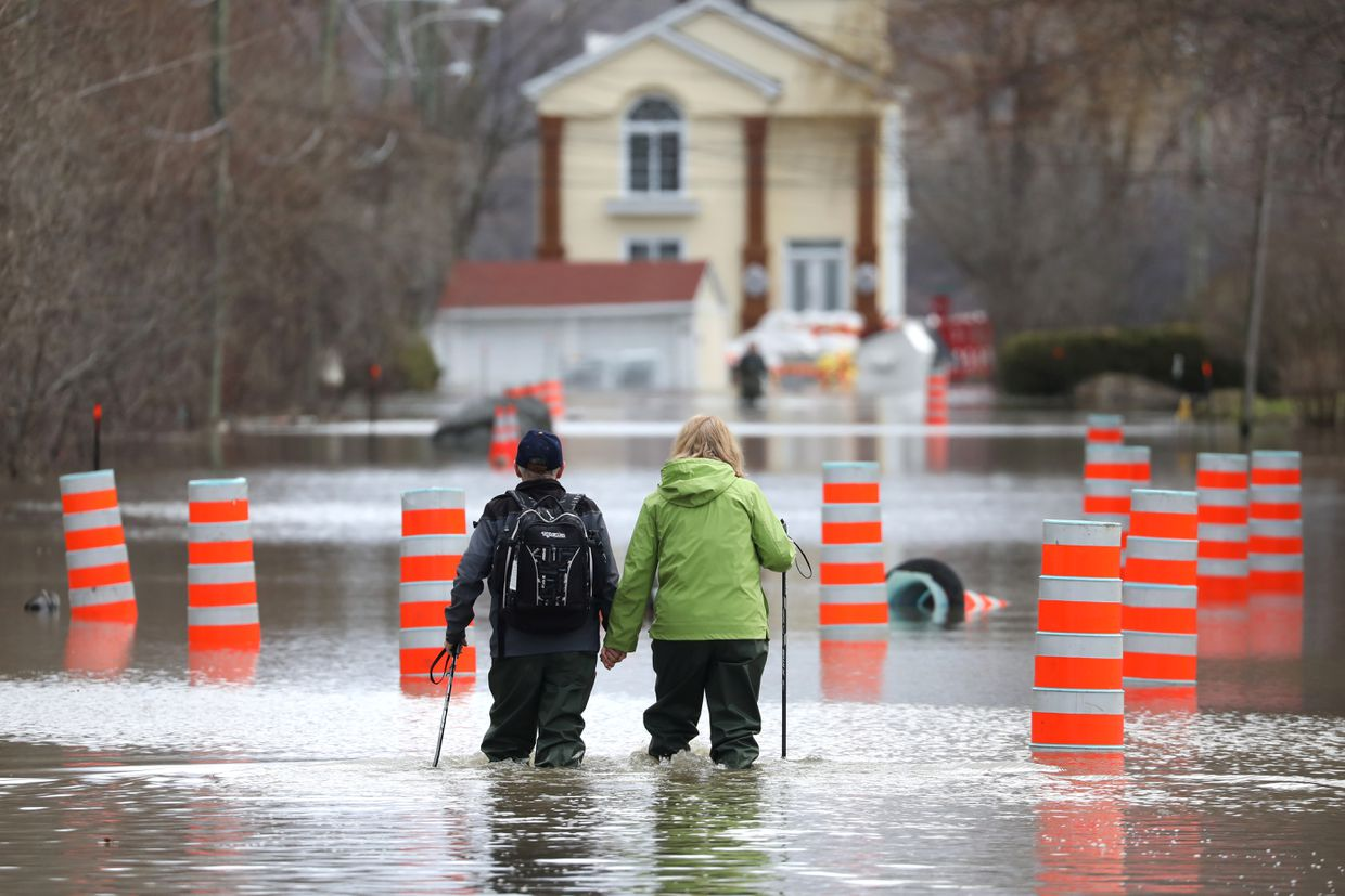 Spring flooding in Canada: City of Ottawa declares state of emergency as Quebec calls for further evacuations