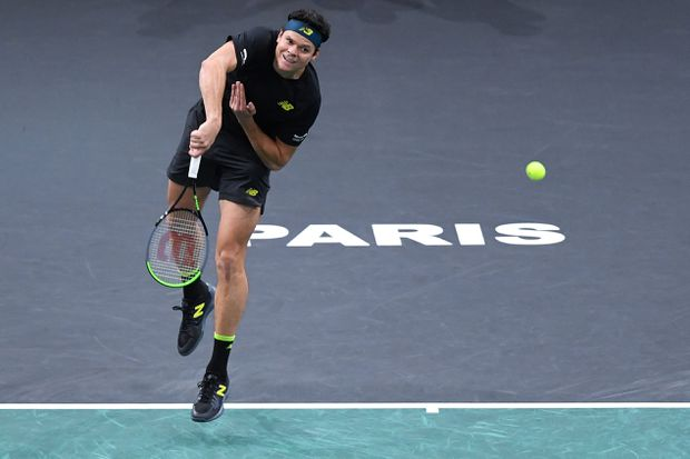 Milos Raonic out of Davis Cup Finals with back injury