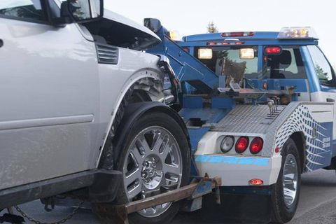 Tow-truck driver forced to play action hero after truck stolen