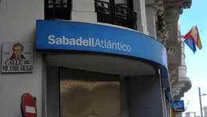 A Banco Sabadell SA bank branch in Madrid.