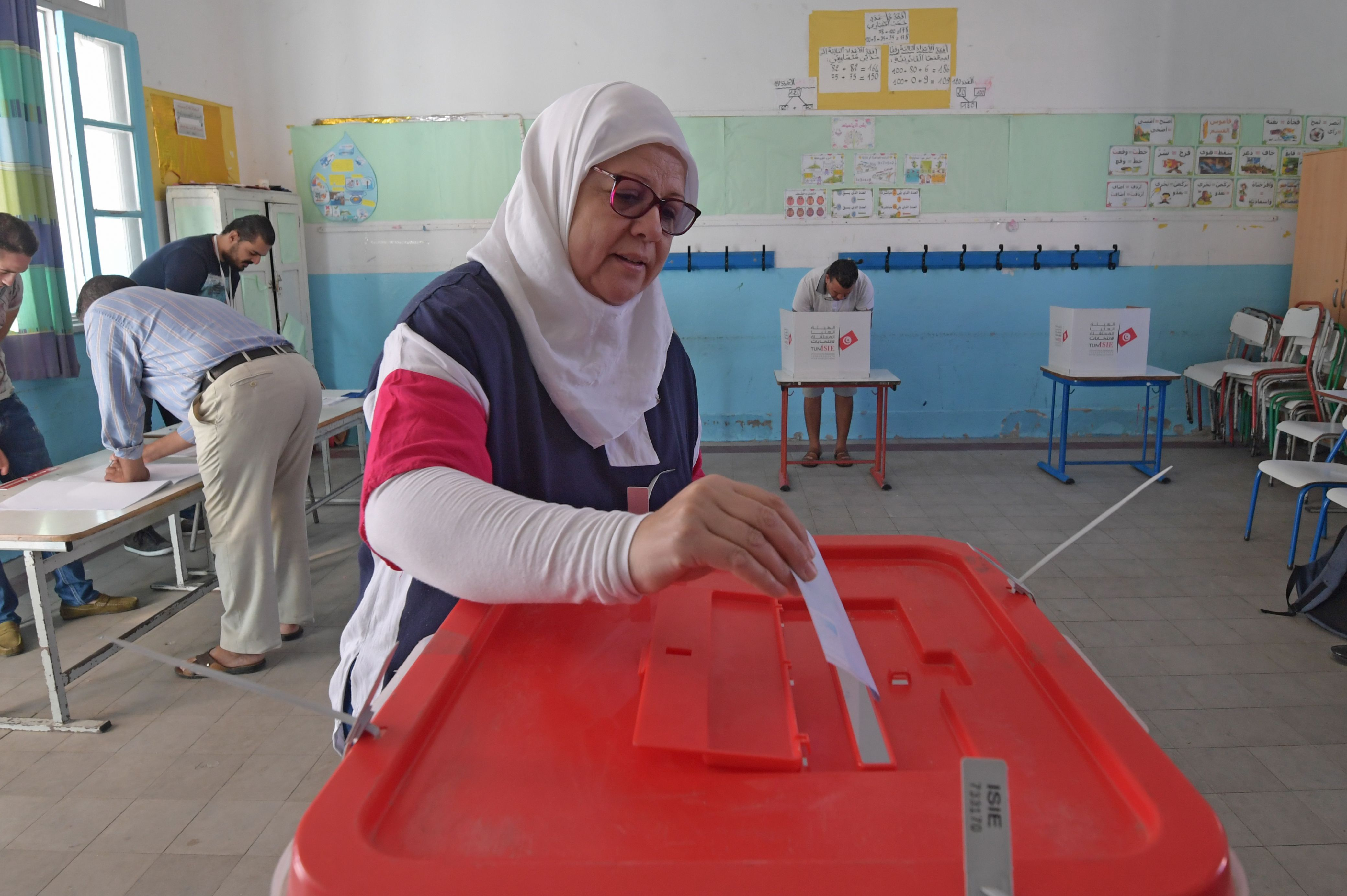 Kais Saied landslide victory in Tunisian presidential election hailed by supporters as revival of 2011 democratic revolution