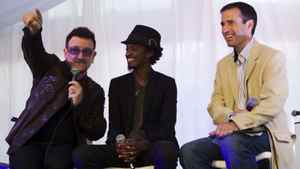 U2 frontman Bono and K'naan speak about famine in Somalia with The Globe and Mail's Editor-in-Chief John Stackhouse.