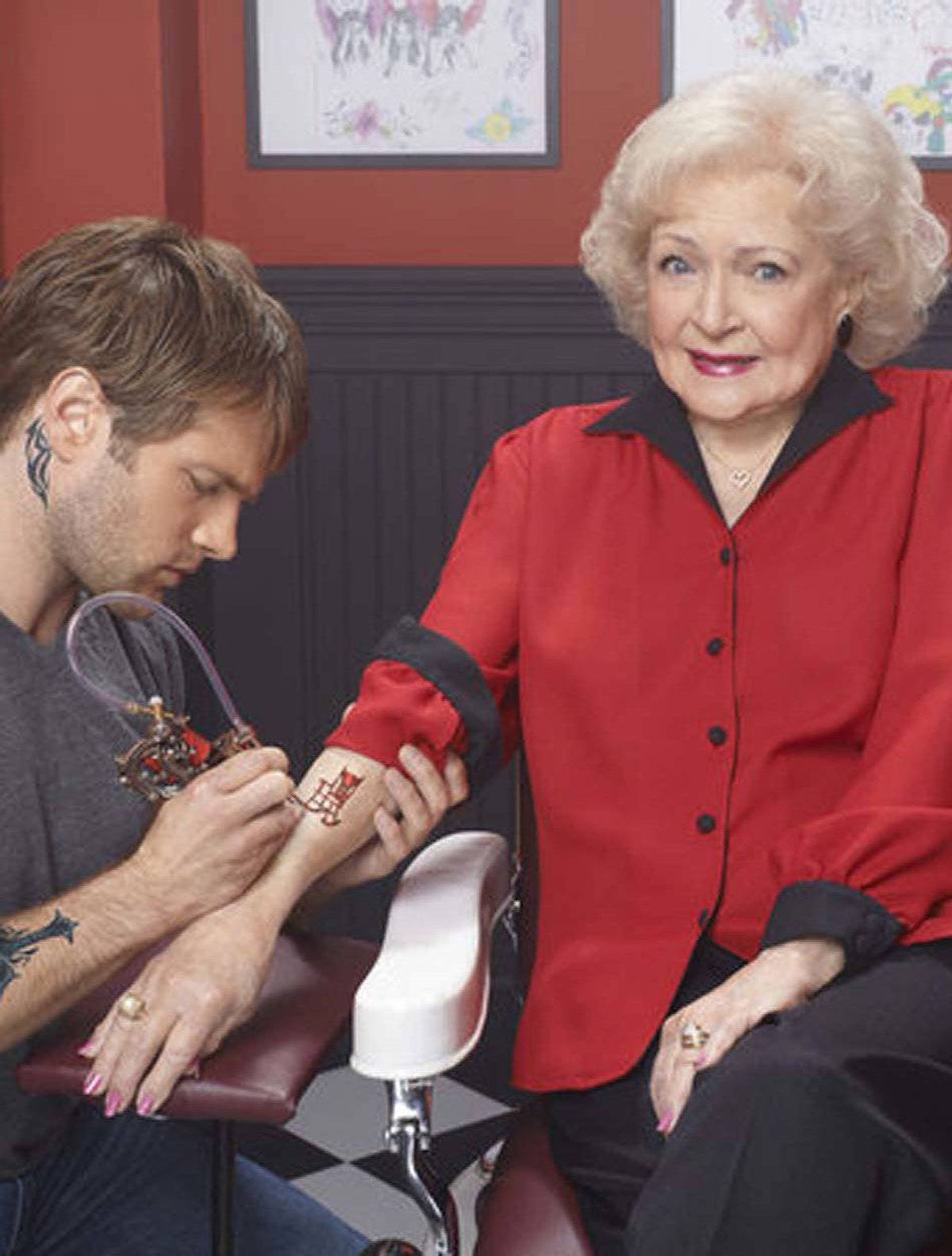 "COMEDY Betty White's Off Their Rockers NBC, CTV Two, 8 p.m. ET/PT The public's love affair with Betty White just keeps on going. Tested to huge U.S. ratings in January, this new show finds the 90-year-old White setting a handful of her fellow seniors loose on the streets to pull pranks on young people, while hidden cameras film the hilarious results. Hence, in tonight's opener we have a dear old lady spreading her late spouse's ashes on a park bench and another handing out tickets to young whippersnappers for ""makeup violations."" White provides the saucy commentary in between the pranks. Long may she run."