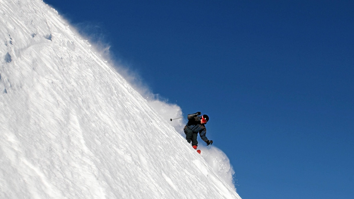 Ian Brown skis Take It or Leave It on Monashee Powder Snowcats' terrain in the interior of B.C.