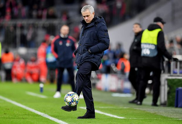 Jose Mourinho personifies the weird repeating time-loop of soccer