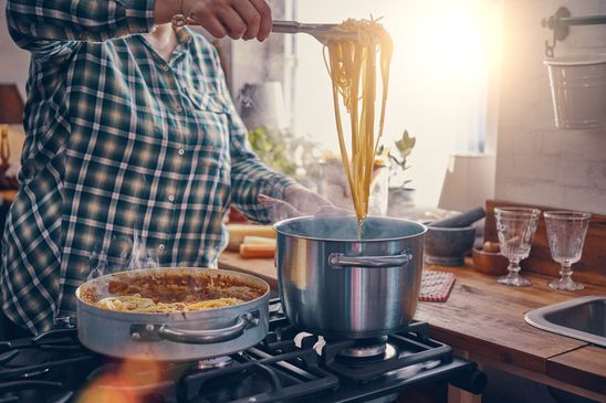 What is the right way to cook pasta?