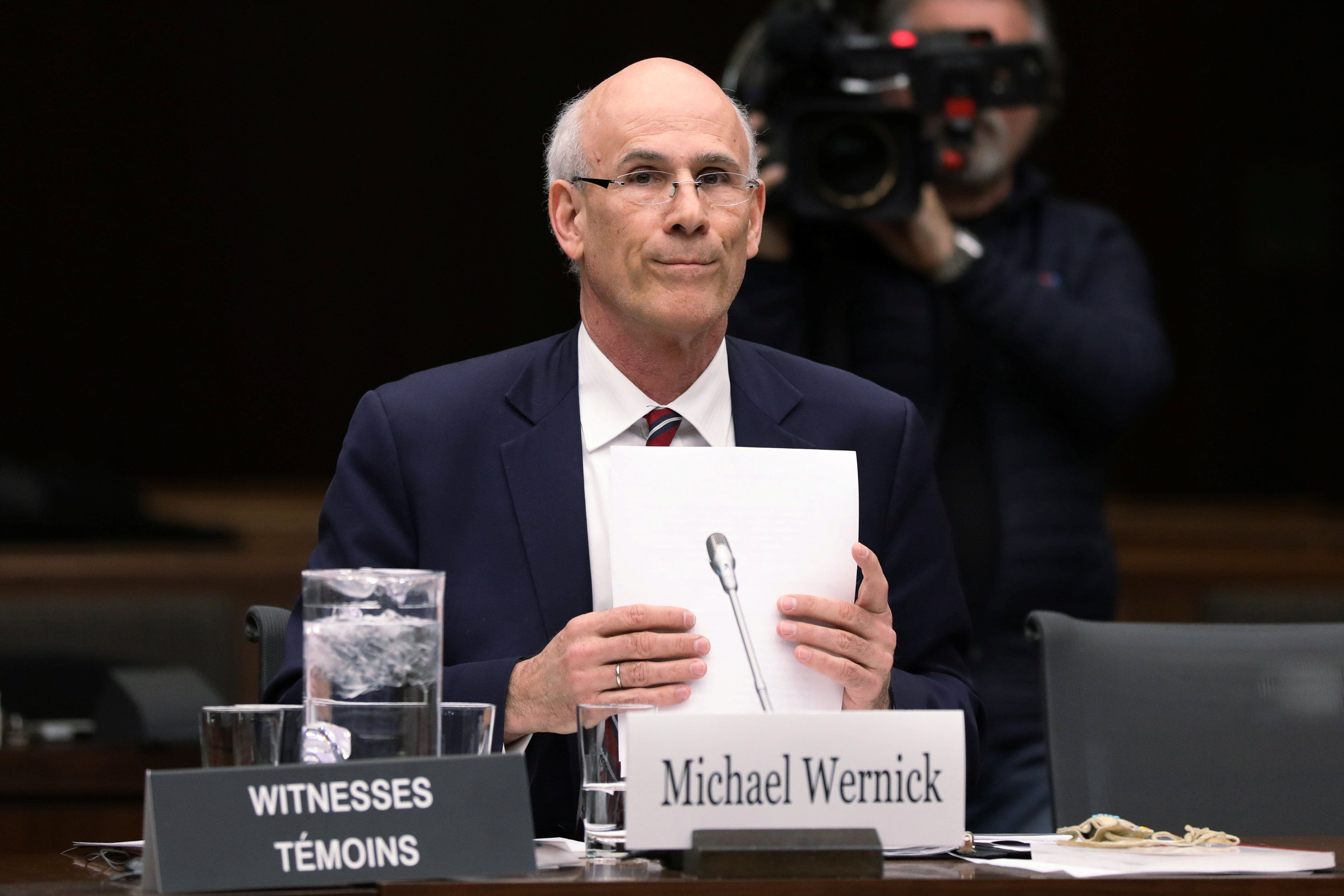 Image result for david wernick privy council